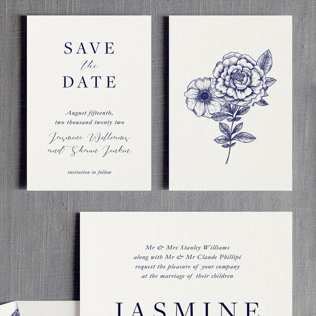 Tiffany Wedding Invitation - Feel Good Wedding Invitations
