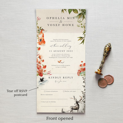 Once Upon A Time Wedding Invitation - Feel Good Wedding Invitations