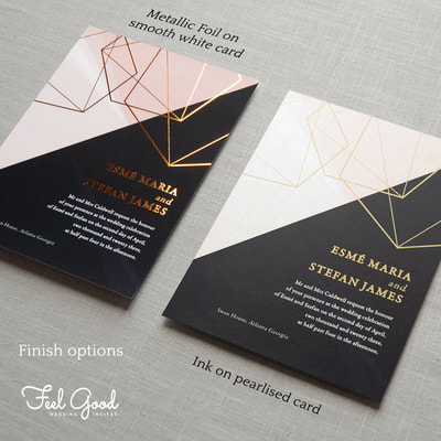 Prism wedding invitation feel good wedding invitations featuring sparkling pearl card or real metallic foil a luxurious classy invite high class luxury wedding invitations inspired by the dispersion of light colourmoves