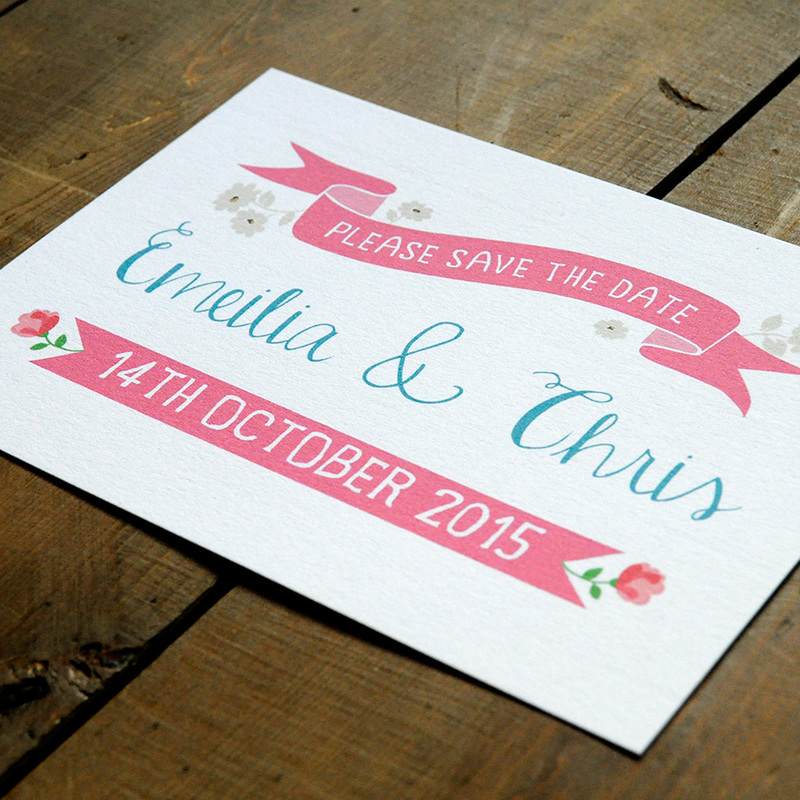 Vintage Country Wedding Invitation - Feel Good Wedding Invitations