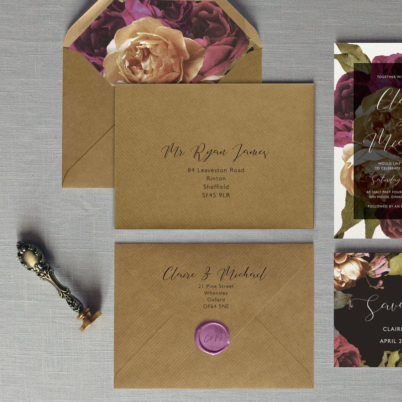 Flourish Wedding Invitation - Feel Good Wedding Invitations