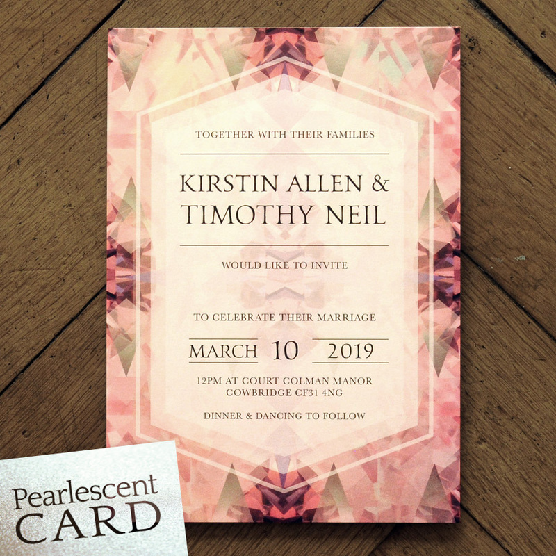 Diamond Wedding Invitation Feel Good Wedding Invitations