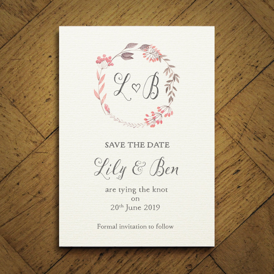 Summer Meadow Wedding Invitation Feel Good Wedding Invitations