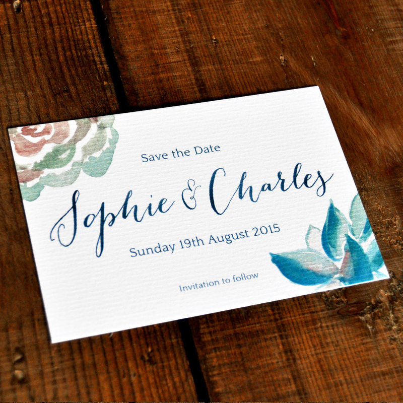 Botanical Beauty Wedding Invitation Feel Good Wedding Invitations