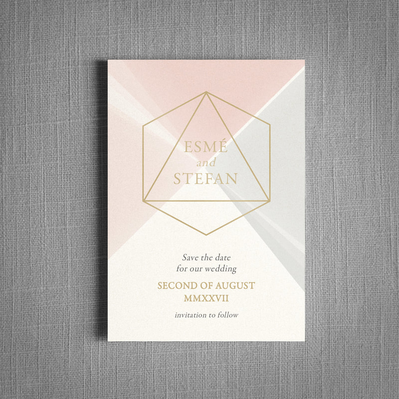 Prism Wedding Invitation Feel Good Wedding Invitations