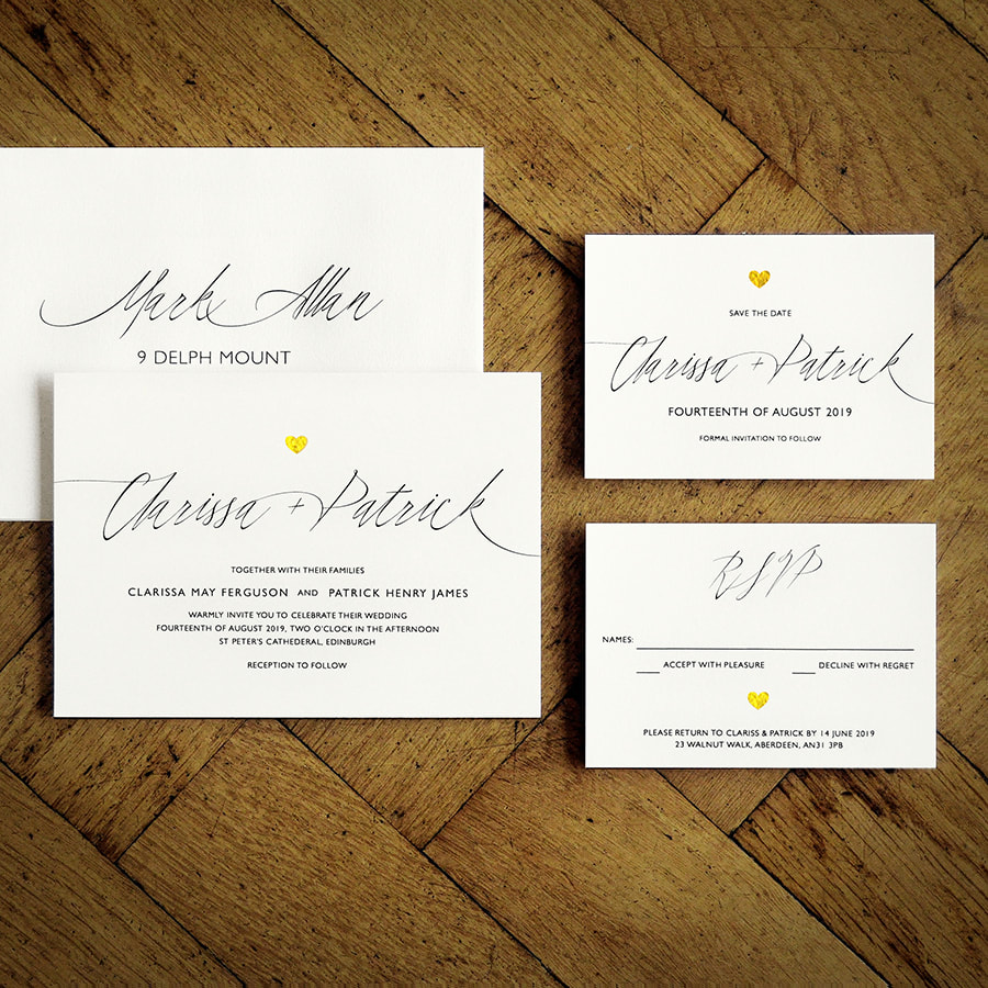 Feel Good Wedding Invitations - The Collection