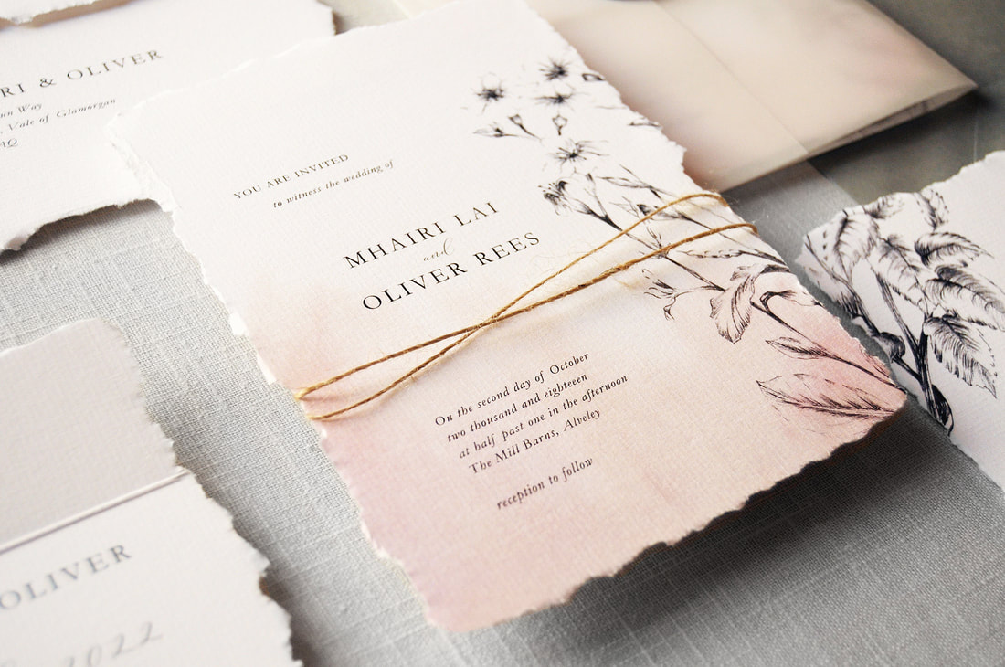 Daydream Wedding Invitation - Feel Good Wedding Invitations