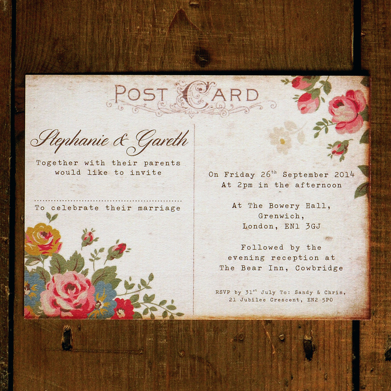 Wedding Invitation Suite Printed On Thick 320gsm Feel Good Textured Card Choose From Matching Save The Dates Rsvp Cards
