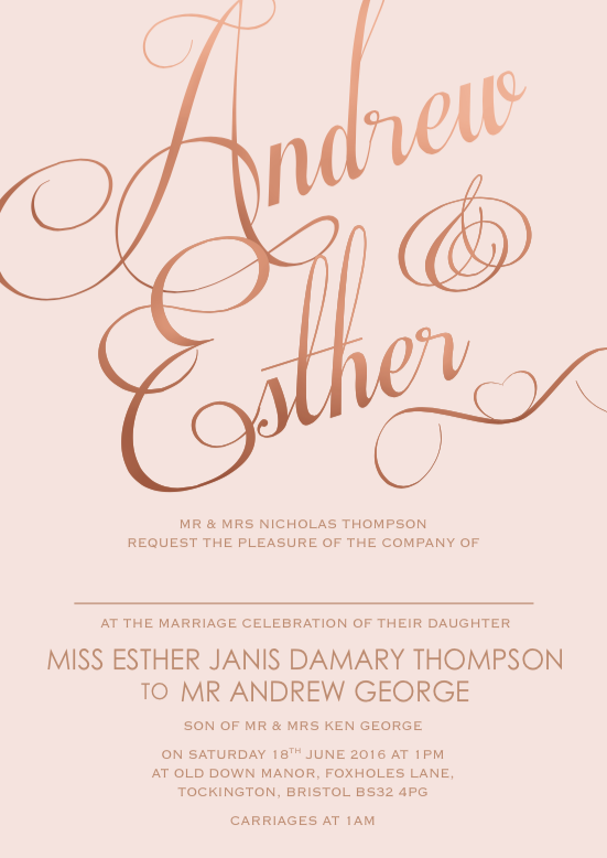 Wedding Invitation Wording Ideas Feel Good Wedding Invitations