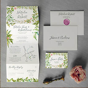 Penguin Classic Wedding Invitation